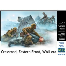 CROSSROAD, EASTERN FRONT, WWII ERA MASTER BOX 1/35