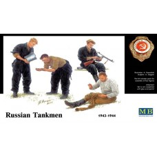 RUSSIAN TANKMEN, 1943-1944 MASTER BOX 1/35