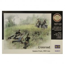CROSSROAD EASTERN FRONT, WWII ERA MASTER BOX 1/35