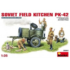 SOVIET FIELD KITCHEN PK-42 MINI ART 1/35
