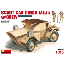 SCOUT CAR DINGO Mk.1a W/CREW MINI ART 1/35