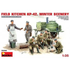 FIELD KITCHEN PK-42 WINTER SCENERY MINI ART 1/35