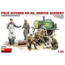 FIELD KITCHEN PK-42 WINTER SCENERY MINI ART 1/35