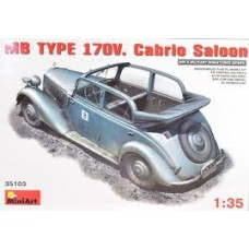 MB TYPE 170V CABRIO SALOON MINI ART 1/35