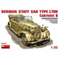 GERMAN STAFF CAR TYPE 170V CABRIOLET B MINI ART 1/35