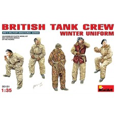 BRITISH TANK CREW WINTER UNIFORM MINI ART 1/35