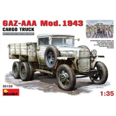 GAZ-AAA MOD. 1943 CARGO TRUCK MINI ART 1/35
