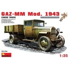 GAZ-MM MOD. 1943 CARGO TRUCK MINI ART 1/35
