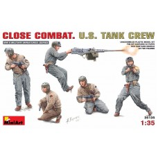 CLOSE COMBAT U.S. TANK CREW MINI ART 1/35