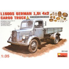L1500S GERMAN 1,5T 4X2 CARGO TRUCK MINI ART 1/35