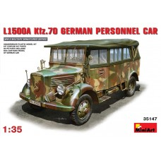 L1500A Kfz. 70 GERMAN PERSONNEL CAR MINI ART 1/35