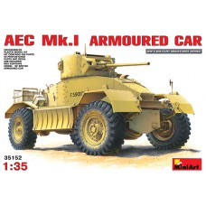 AEC Mk.I ARMOURED CAR MINI ART 1/35