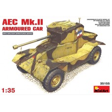 AEC Mk.II ARMOURED CAR MINI ART 1/35