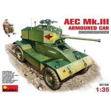 AEC Mk.III ARMOURED CAR MINI ART 1/35