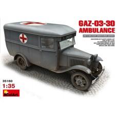 GAZ-03-30 AMBULANCE MINI ART 1/35
