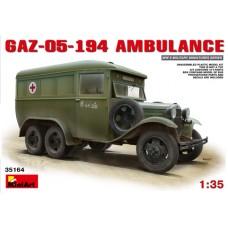 GAZ-05-194 AMBULANCE MINI ART 1/35