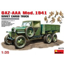 GAZ-AAA MOD 1941 SOVIET CARGO TRUCK MINI ART 1/35