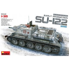 SU-122 EARLY PRODUCTION MINI ART 1/35