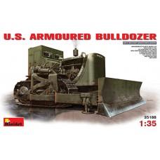 U.S. ARMOURED BULLDOZER MINI ART 1/35