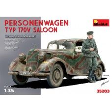 PERSONENWAGEN TYP 170V SALOON MINI ART 1/35