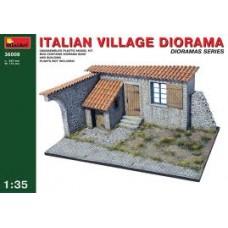ITALIAN VILLAGE DIORAMA MINIART 1/35