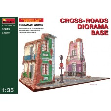 CROSS-ROADS DIORAMA BASE MINIART 1/35