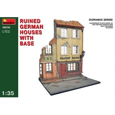 RUINED GERMAN HOUSES WITH BASE MINIART 1/35
