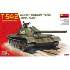 T-54-2 SOVIET MEDIUM TANK MOD. 1949 MINI ART 1/35