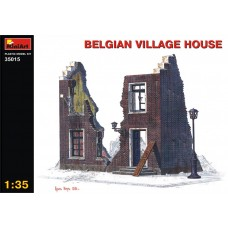 BELGIAN VILLAGE HOUSE MINIART 1/35