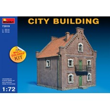 CITY BUILDING MULTI COLORED KIT MINIART 1/72