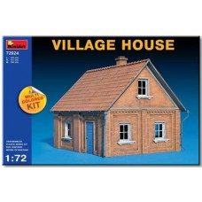 VILLAGE HOUSE MULTI COLORED KIT MINIART 1/72