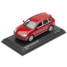 PORSCHE CAYENNE GTS 2007 - RED METALLIC  MINICHAMPS 1/64