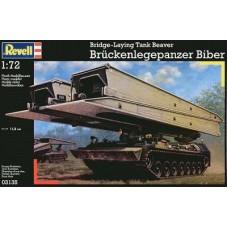 BRIDGE-LAYING TANK BEAVER BRUCKENLEGEPANZER BIBER REVELL 1/72