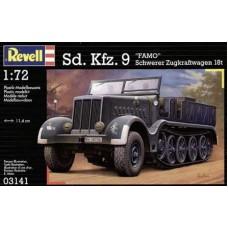SD. KFZ. 9 HALFTRACK FAMO 18T REVELL 1/72