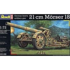 GERMAN 21 CM MORSER 18 REVELL 1/72