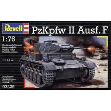 PZKPFW II AUSF. F REVELL 1/76
