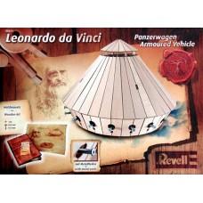 LEONARDO DA VINCI ARMOURED VEHICLE GUN REVELL 1/24