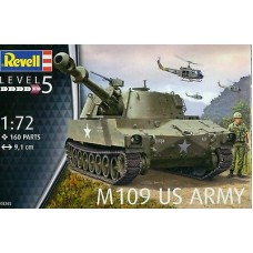 M109 US ARMY  REVELL 1/72