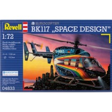 EUROCOPTER BK 117 SPACE DESIGNER REVELL 1/72