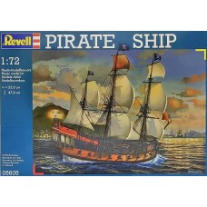 PIRATE SHIP REVELL 1/72