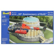 B0 105 35th ANNIVERSARY OF ROTH FLY-OUT VERSION REVELL 1/32