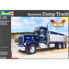 KENWORTH DUMP TRUCK REVELL 1/25