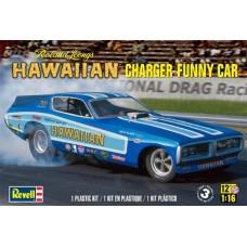 HAWAIIAN CHARGER FUNNY CAR REVELL 1/16
