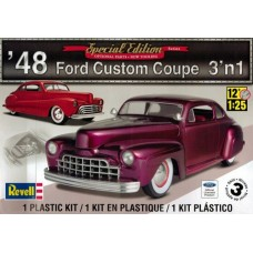 48 FORD CUSTOM COUPE 3n1 REVELL 1/25