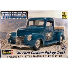 40 FORD CUSTOM PICKUP TRUCK REVELL 1/24