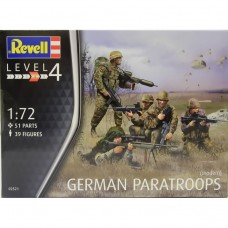 GERMAN PARATROOPS MODERN REVELL 1/72