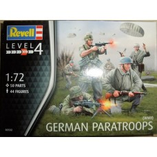 GERMAN PARATROOPS REVELL 1/72