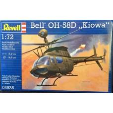 BELL OH-58D KIOWA REVELL 1/72