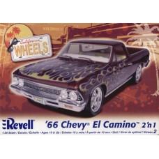 66 CHEVY EL CAMINO 2N1 REVELL 1/25