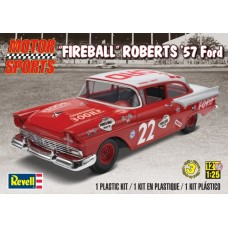 FIREBALL ROBERTS 57 FORD REVELL 1/25